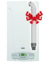 Газовый настенный котел BAXI ECO 4S 10F (10 кВт, двухконтурный, турбо)